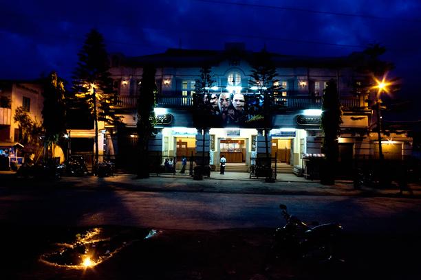 Cental Pyin Oo Lwin by night