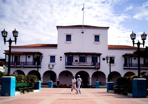Parque Cespèdes Santiago de Cuba