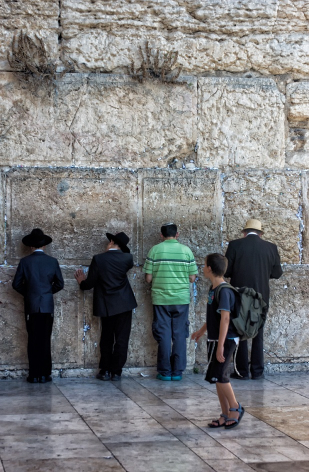 Wailing Wall Old City of Jerusalem