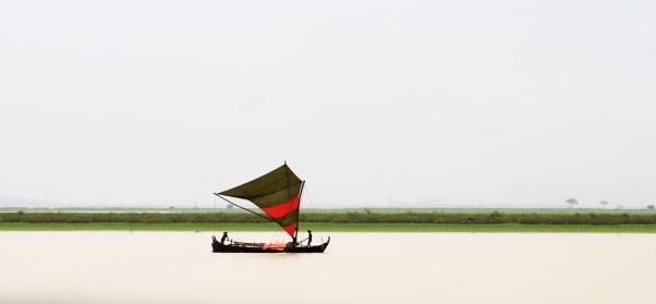 Boat on Kanadan River