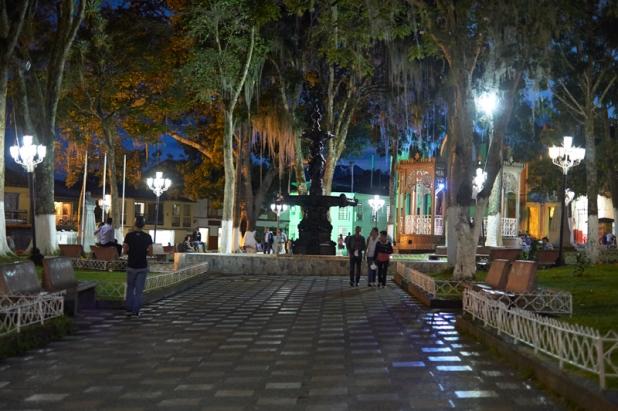 Main square by nigt Salamina