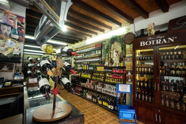 Liquor store in Antigua