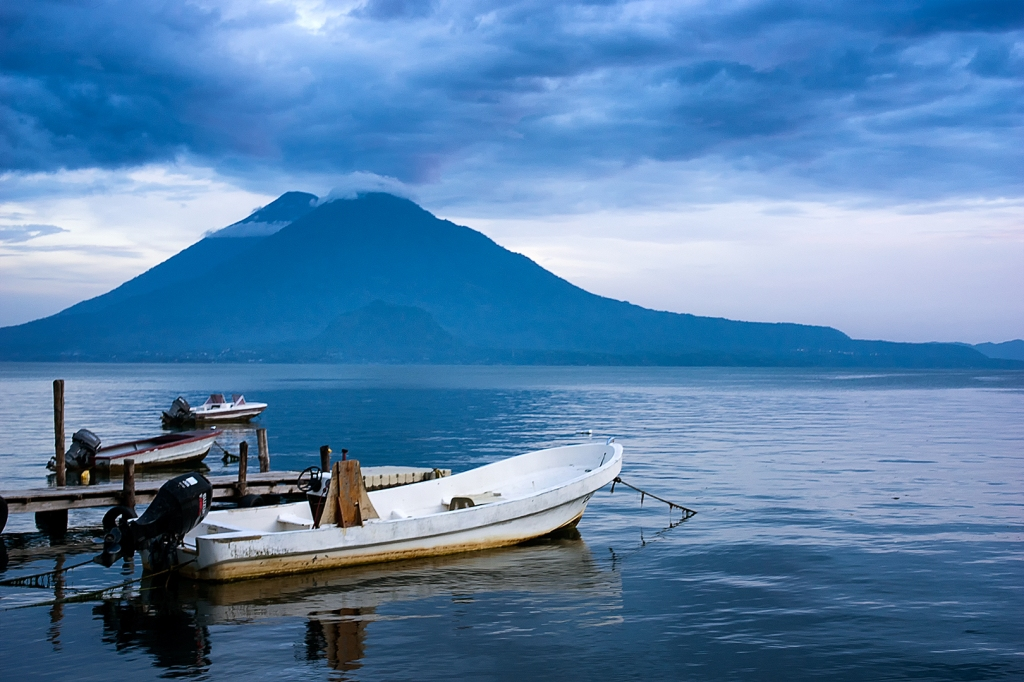 Lake Atitlán view