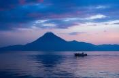 Sunset at Lake Atitlán