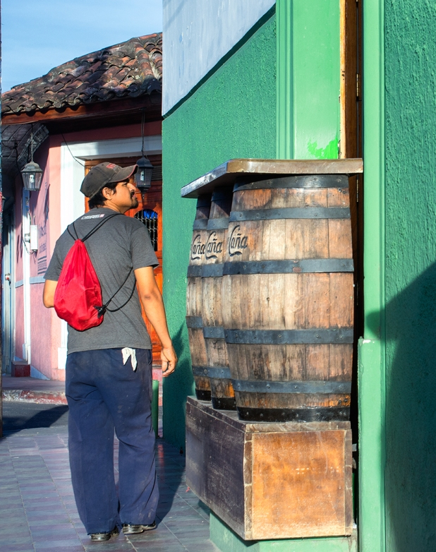 Man at Floro de Cãna