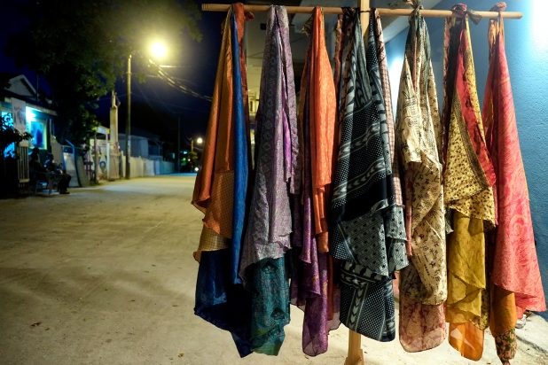 Scarfs in the night Caye Caulker
